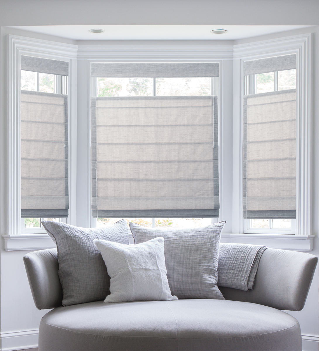 Affordable Modern Roman Shades