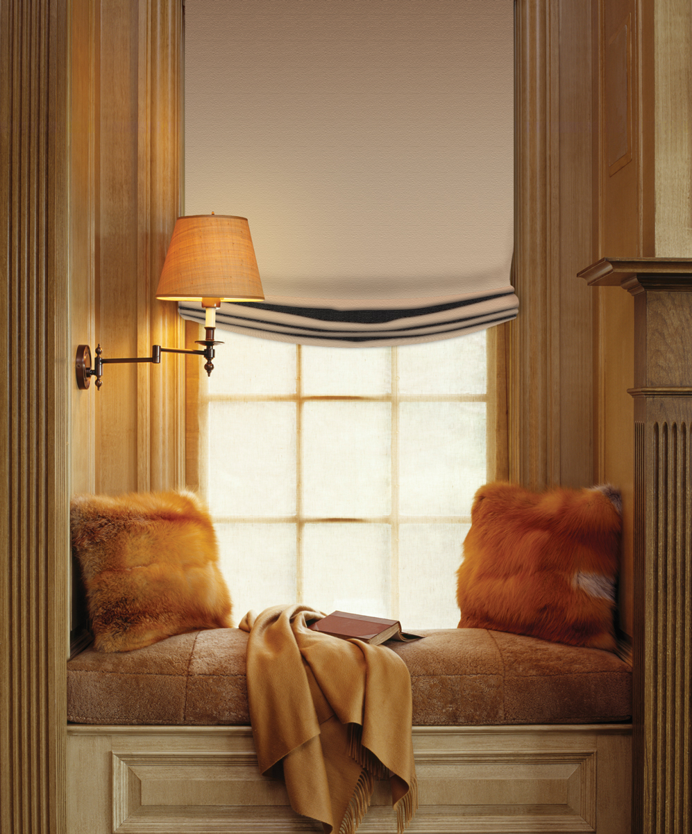 Affordable Pocket Roman Shades