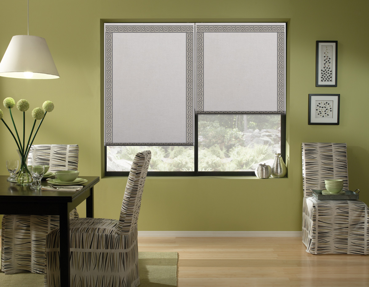 Affordable Solar Roman Shades