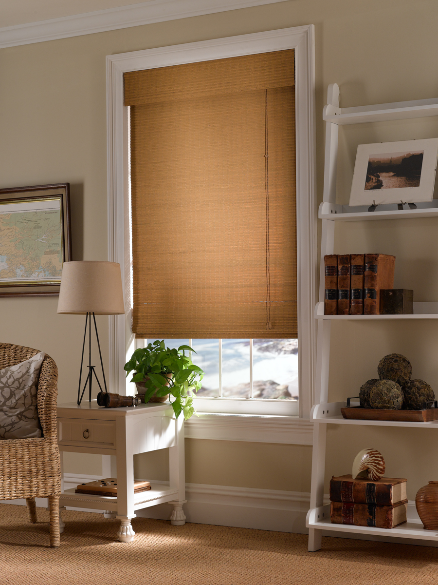 Affordable Woven Roman Shade