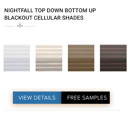 DISCOUNT ECLIPSE DAY & NIGHT CORDLESS BLACKOUT CELLULAR SHADES