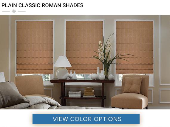Natural Roman Shades 1 Affordable Blinds Blog