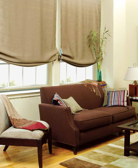 Choosing the right roman shades