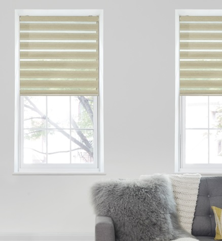 The Beauty of Cordless Zebra Shades
